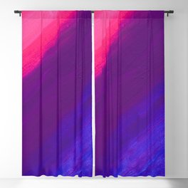 Dark and Dreamy Sunset Colors Blackout Curtain