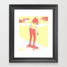 Moss Landing Framed Art Print