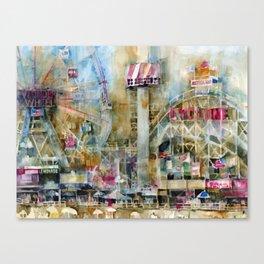 Wonder Wheel - Coney Island  - 2010 Canvas Print