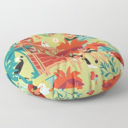 Resort living Floor Pillow