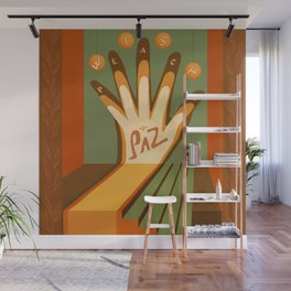 Paz This is the Gift Wall Mural