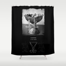 InverTed Cross Shower Curtain