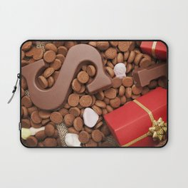 I - Bag with treats, for traditional Dutch holiday 'Sinterklaas' Laptop Sleeve