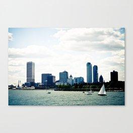Milwaukee, WI Canvas Print
