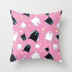 Mokona's pattern Throw Pillow