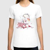 subaru T-shirts featuring Japanese Creepy Geisha by viva la revolucion