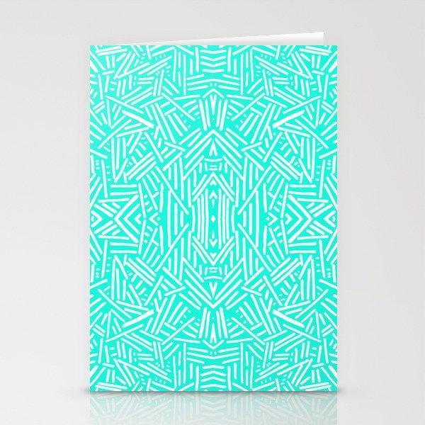 Radiate (Mint) Stationery Cards