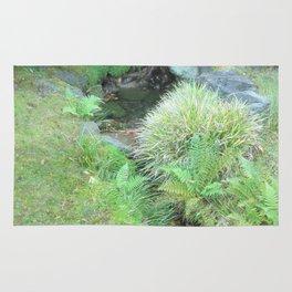 Japanese Tea Garden Hidden Stream Rug