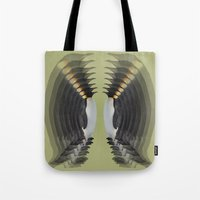 penguins Tote Bags featuring Penguins by AmDuf