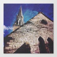 spires Canvas Prints featuring SPIRES by Katie Delz