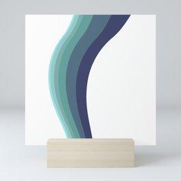 swerve Mini Art Print