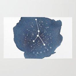 cancer constellation zodiac Rug