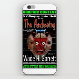 """""""The Reckoning"""" book cover art with signature iPhone Skin"""