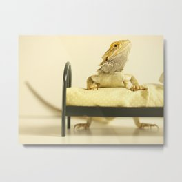It's Bedtime Little Dragon... Metal Print