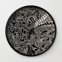 marina Wall Clocks featuring - marina - by Magdalla Del Fresto