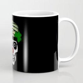 Irish Clown Skeleton Coffee Mug