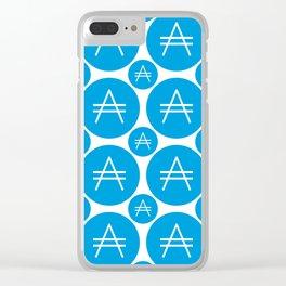 Aricoin - Amazing Crypto Fashion Art (Large) Clear iPhone Case