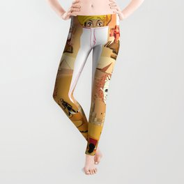 An Egyptian Story Leggings