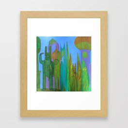 Farewell to Thee Framed Art Print