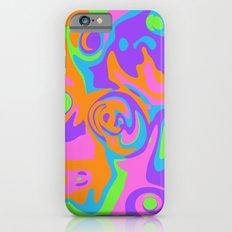 Abstract Tie Dye iPhone 6s Slim Case