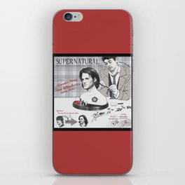 Supernatural Toy Co. Slumber Party Sam Winchester Styling Head iPhone Skin