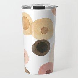 Abstract Boobs Travel Mug