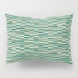 Vintage Lines Forest Green Pillow Sham