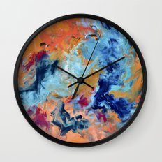 The Colour of Sound No. 1 Wall Clock