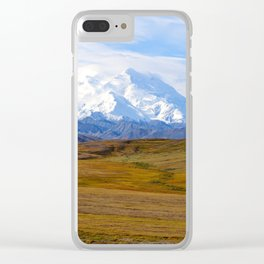 The Road to Denali Clear iPhone Case