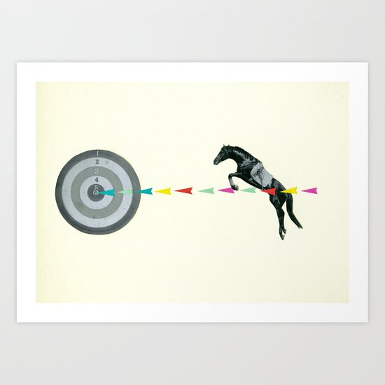 On Target : Sagittarius Art Print