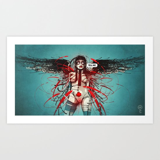 Nymph IV: Exclusive Art Print