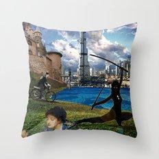 The Diamond Age - Neal Stephenson Throw Pillow