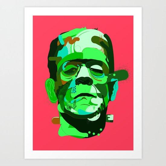 Frank. Art Print