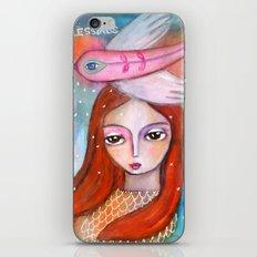 Blessings - girl art iPhone & iPod Skin