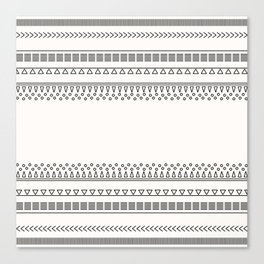 Tribal Pattern of Balondo Canvas Print
