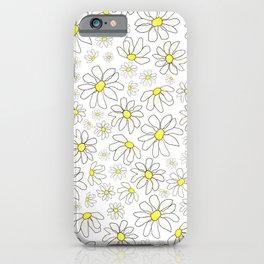 Picking Daisies iPhone Case