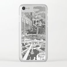 Frackpool 01 Clear iPhone Case