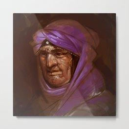 Bedouin Traveler Metal Print