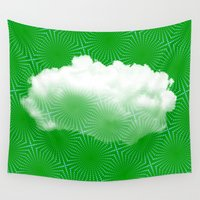 cloud Wall Tapestries featuring Cloud by Mr and Mrs Quirynen