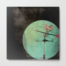 The Tale of a Weathervane Metal Print