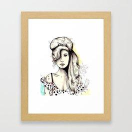 Amy Amy Amy Framed Art Print