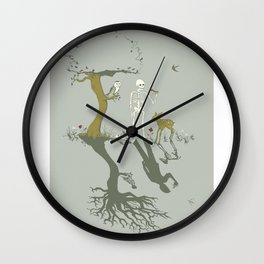 Alive & Well Wall Clock
