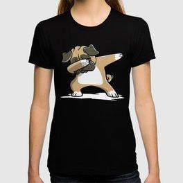 Funny Dabbing Pug Dog Dab Dance T-shirt