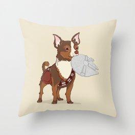 Chewhuahua Throw Pillow