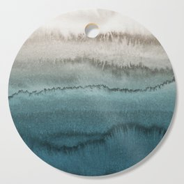 WITHIN THE TIDES - CRASHING WAVES TEAL Cutting Board