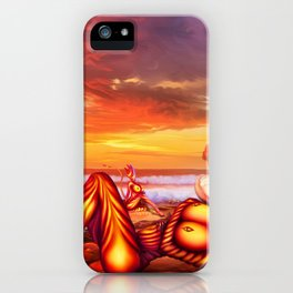 Late evening iPhone Case