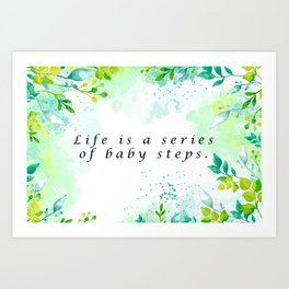Life Quotes That'll Motivate You to Take That Next Step, Painting Canvas, Painting Canvas, Quotes, Quotes Prints, Wall Art Quotes, Wall Art Print