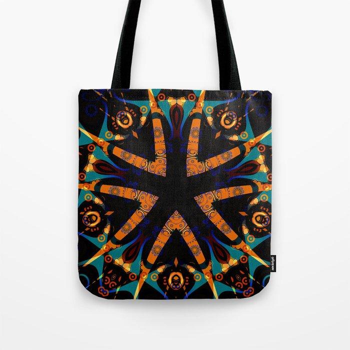 Tribal Geometric Tote Bag
