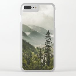 Valley of Forever Clear iPhone Case