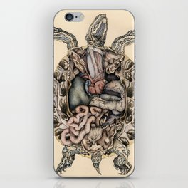 Anatomical Dissection of a Red Eared Terrapin iPhone Skin